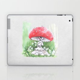 Empire of Mushrooms: Amanita Muscaria Laptop & iPad Skin