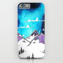 Mount Funk iPhone Case