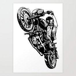 Wheelee Art Print