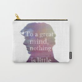 great minds - sherlock Carry-All Pouch