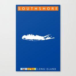 South Shore - Long Island. Canvas Print