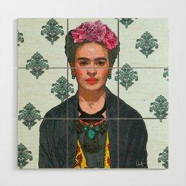 Trendy Frida Kahlo V.2 Wood Wall Art