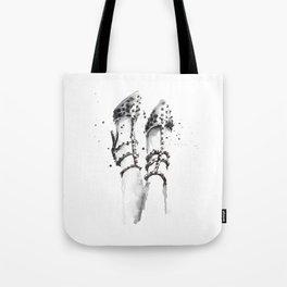 Spiked heels Tote Bag