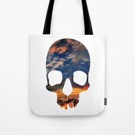 Skull Sunset Tote Bag