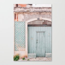 The mint door Canvas Print