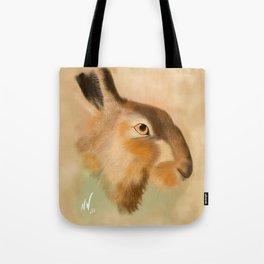 British Brown Hare Tote Bag