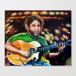 Guitar Master Canvas Print