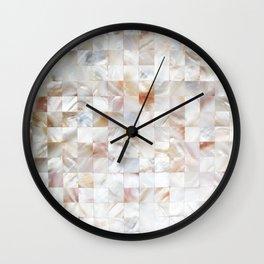 Mother of Pearl #society6 #decor #buyart Wall Clock