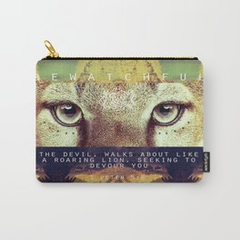 BE WATCHFUL Carry-All Pouch