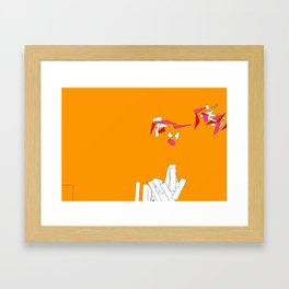 Fragmentation 1 Framed Art Print