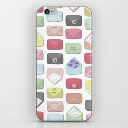 Love Letters iPhone Skin