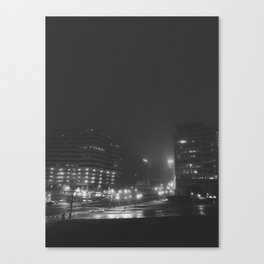 The City of Silver Spring Canvas Print