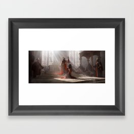 The Trinity Framed Art Print