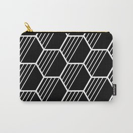 LYLA ((white on black)) Carry-All Pouch