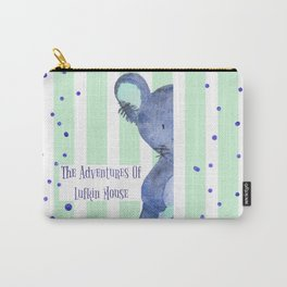 The Adventures Of Lufkin Mouse - Denim Blue - Bagaceous Carry-All Pouch