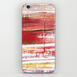 Lavender blush abstract watercolor iPhone Skin