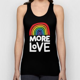 more love Unisex Tank Top