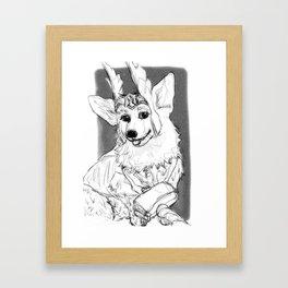 Thorgi!! Framed Art Print