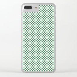 Ivy Polka Dots Clear iPhone Case