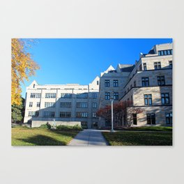 University of Toledo- Stranahan Hall North and South Halls II Canvas Print