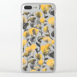 Full Of Flower Clear iPhone Case