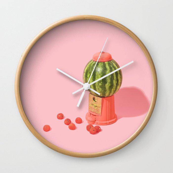 Melon Baller Wall Clock