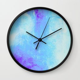 Blue Jean Baby Wall Clock