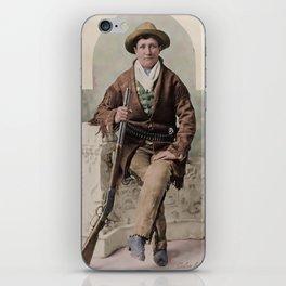 Calamity Jane 1895 iPhone Skin
