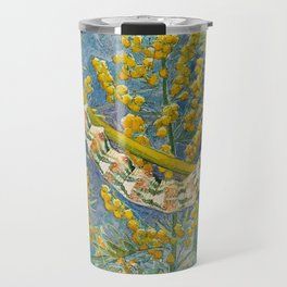 Cucullia Absinthii Caterpillar Travel Mug