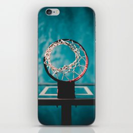 basketball hoop 6 iPhone Skin