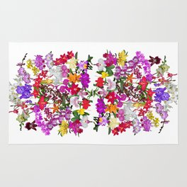 A celebration of orchids Rug