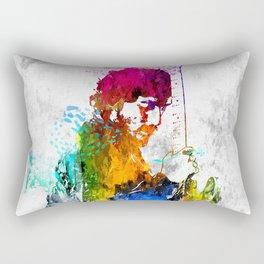 The Boss Bruce S. Grunge Rectangular Pillow
