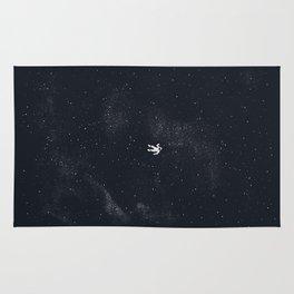 Gravity - Dark Blue Rug