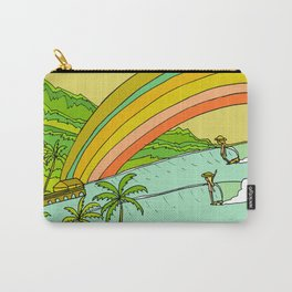 Surf Paradise Rainbow of Happiness Carry-All Pouch