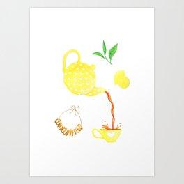 Morning Tea Art Print