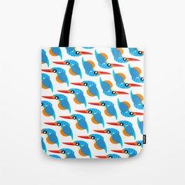 I love kingfisher Tote Bag