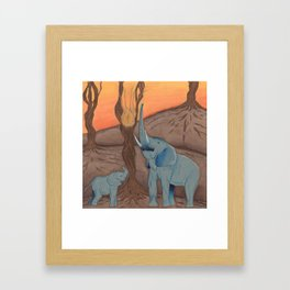 Center of Life Framed Art Print
