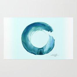 Serenity Enso No. 1 by Kathy Morton Stanion Rug