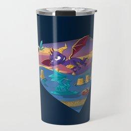 Spyro The Dragon Travel Mug