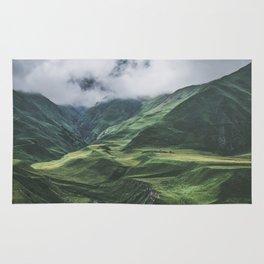 Caucasus Mountans, Kazbegi, Georgia Rug