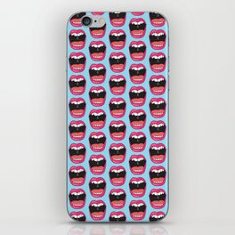 MOUTH BREATHER iPhone Skin