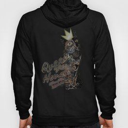 Queen of the House Killer of the mouse (Space) Hoody