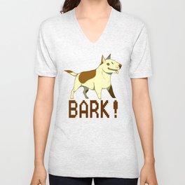Bark! Unisex V-Neck
