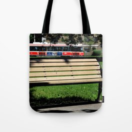 Red Rocket 29 Tote Bag