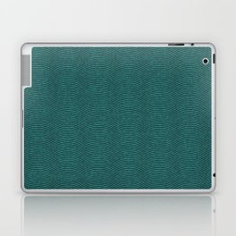 Teal Waves Laptop & iPad Skin