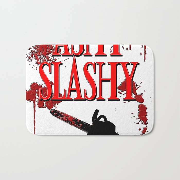 Ashy Slashy Chainsaw Bath Mat