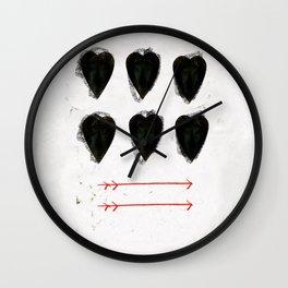 CUORE Wall Clock