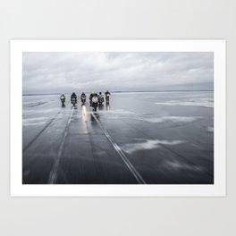Ice Gang Art Print