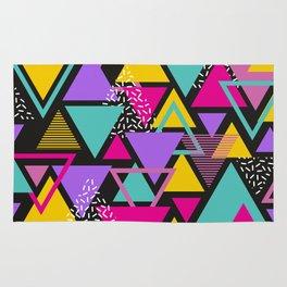 Memphis Triangles Rug