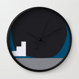 Shape study #4 - Stackable Collection Wall Clock